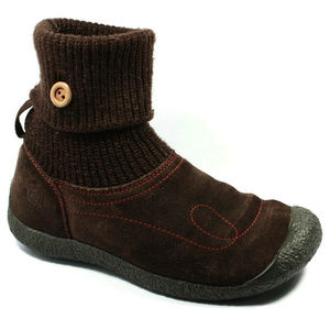 Keen Womens Shay Brown Suede Boots Size 7